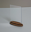 Тейбл-тенты (менюхолдеры) с деревянным основанием