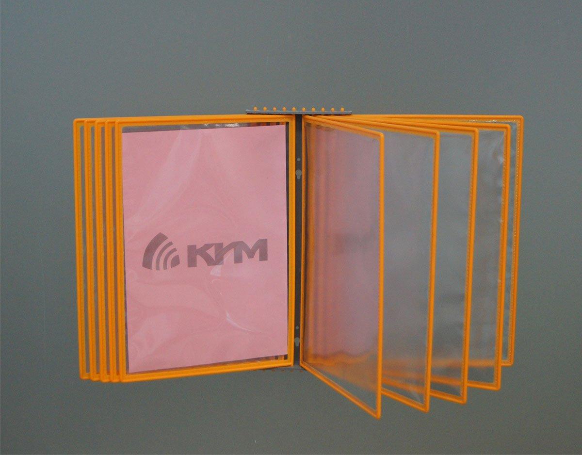Перекидная система на 10 рамок, настенная, арт. 16200/П