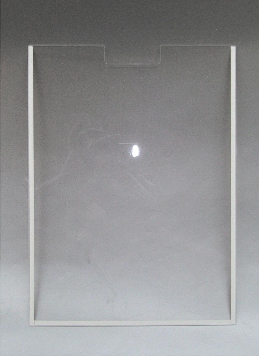 Настенный карман из оргстекла (вертикальный) А3 со скотчем, арт. 16203